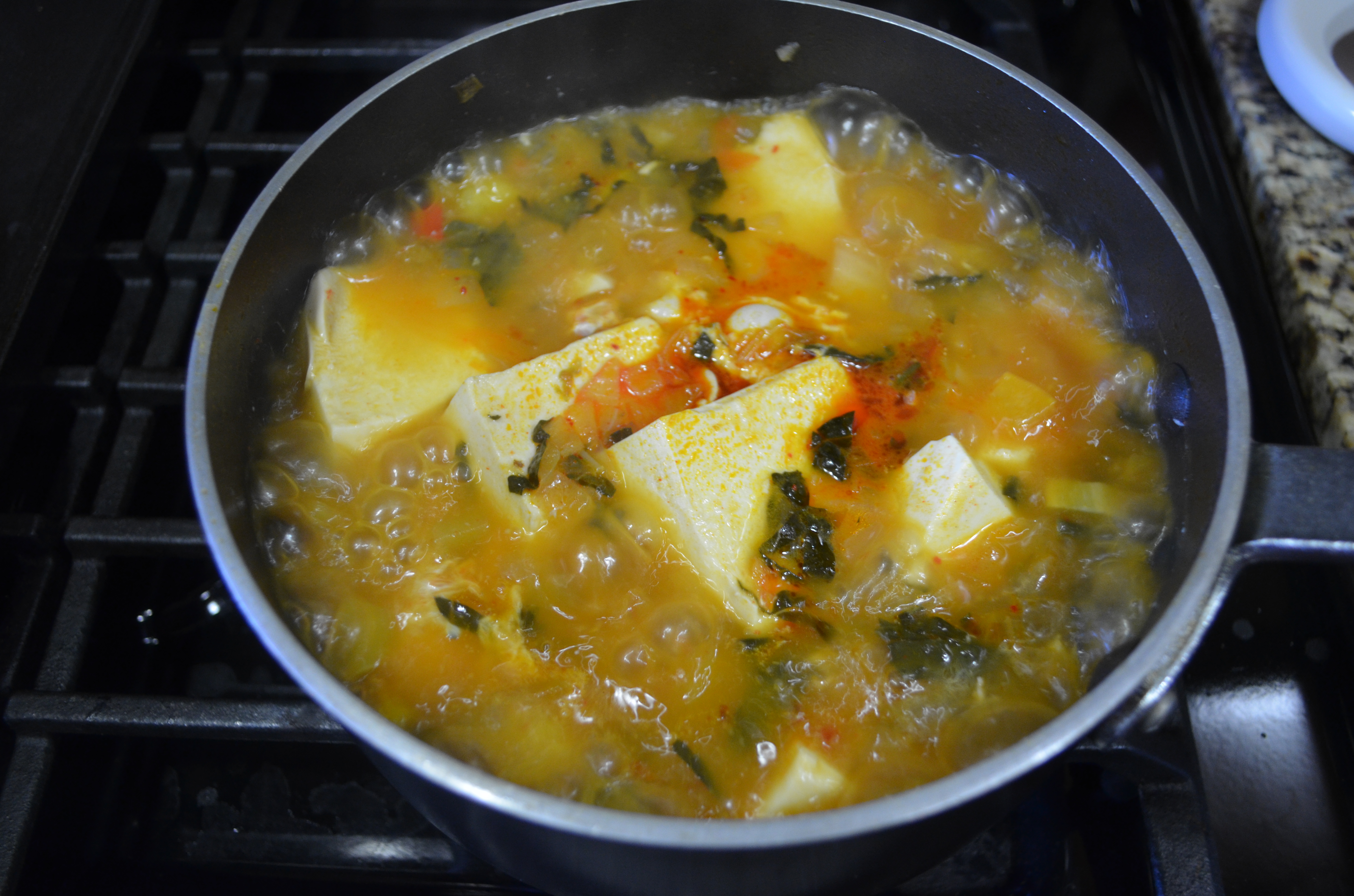 From Garden to Table: Soondubu Jjigae, Korean Soft Tofu ...